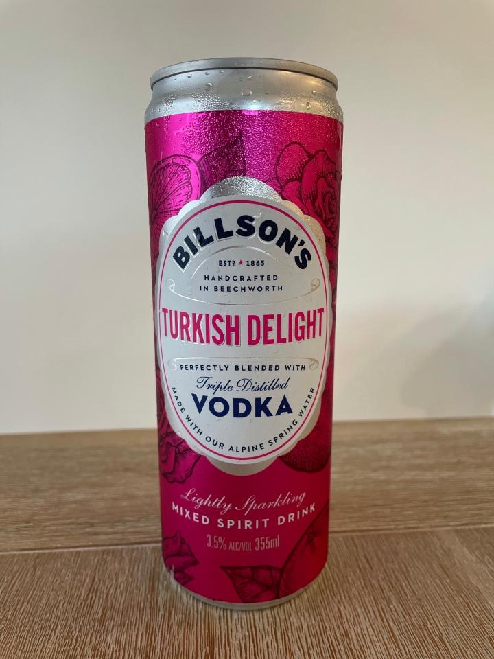 Turkish Delight……….AND VODKA!!